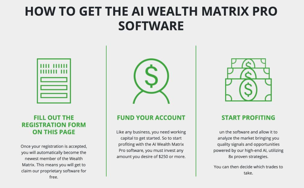 Wealth Matrix how it works