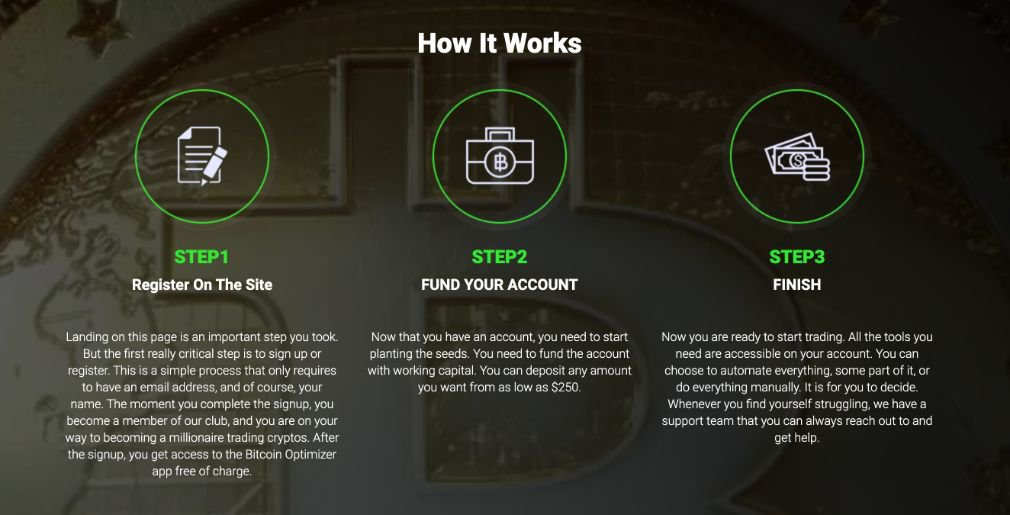Bitcoin Optimizer how it works