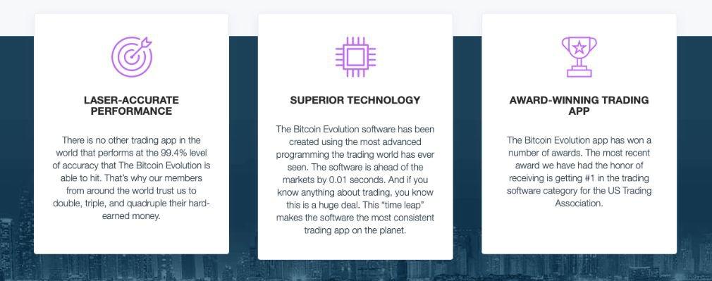 Bitcoin Evolution benefits