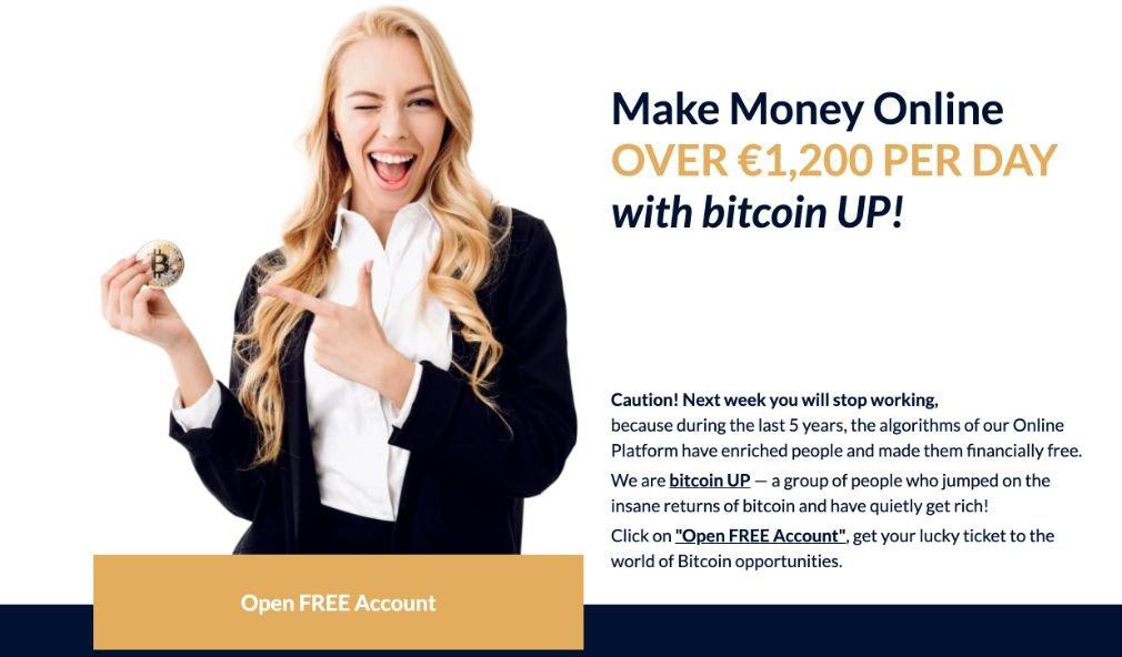 Bitcoin UP benefits