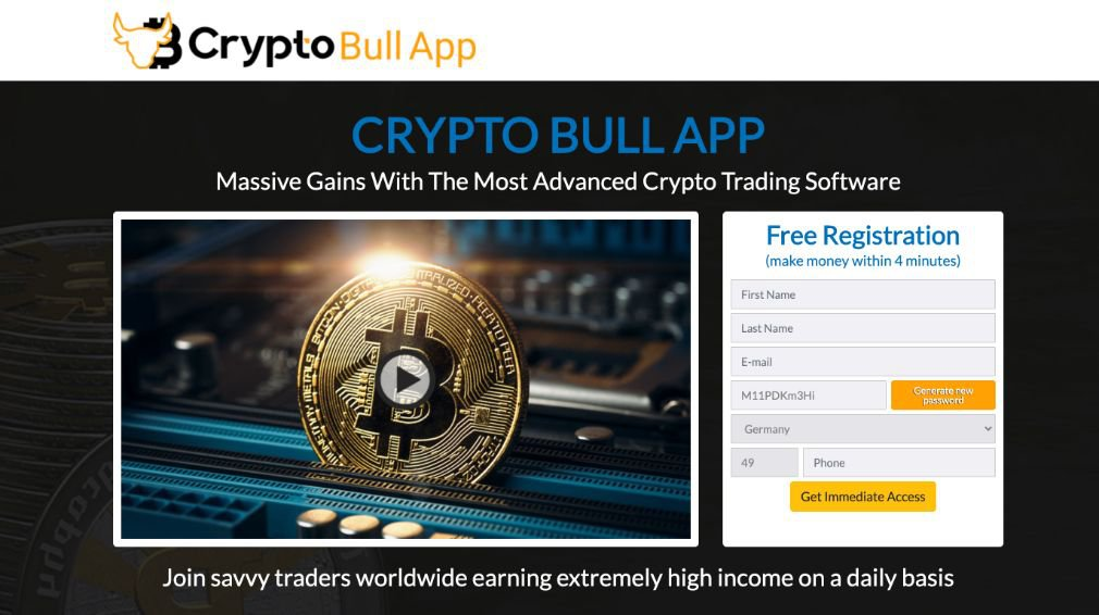 Crypto Bull Review - Scam or is it legit?