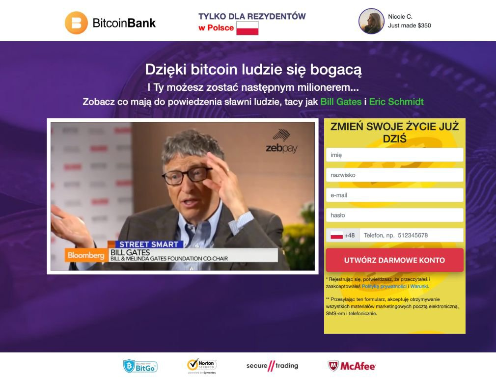 Crypto Bank Opinie