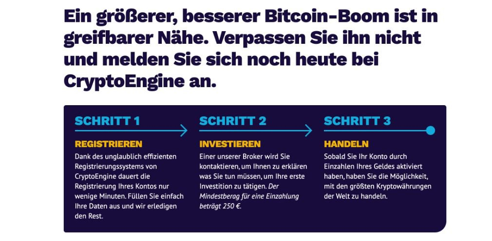 Crypto Engine Wie es funktioniert