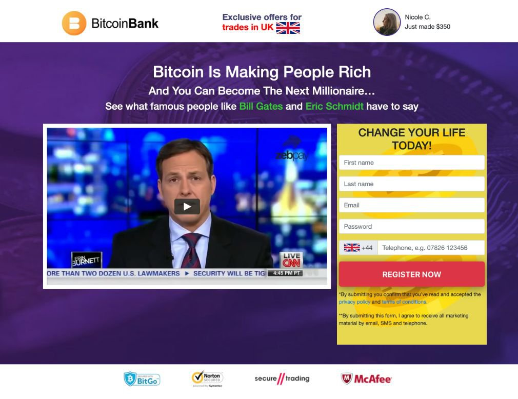 Crypto Bank Revisão