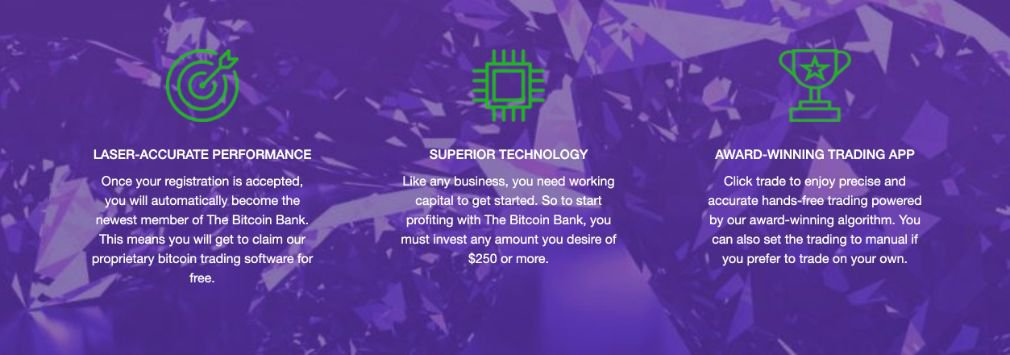 Crypto Bank benefício