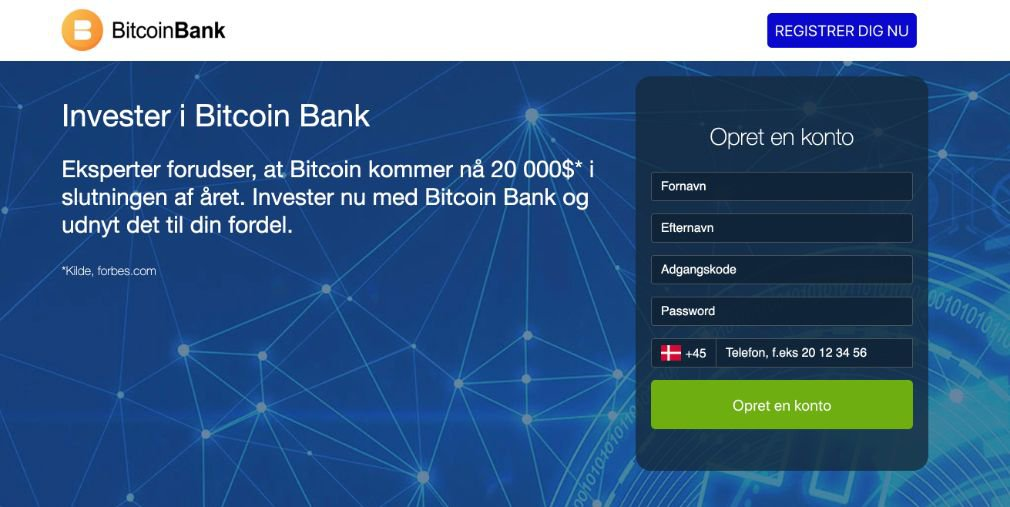 Bitcoin Bank Anmeldelse