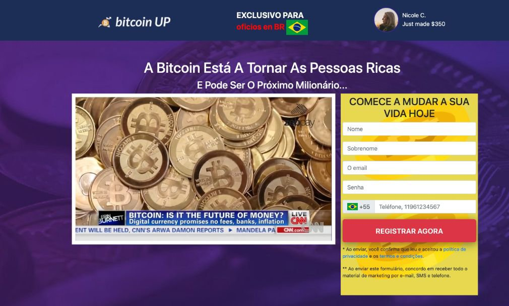 Bitcoin UP Revisão