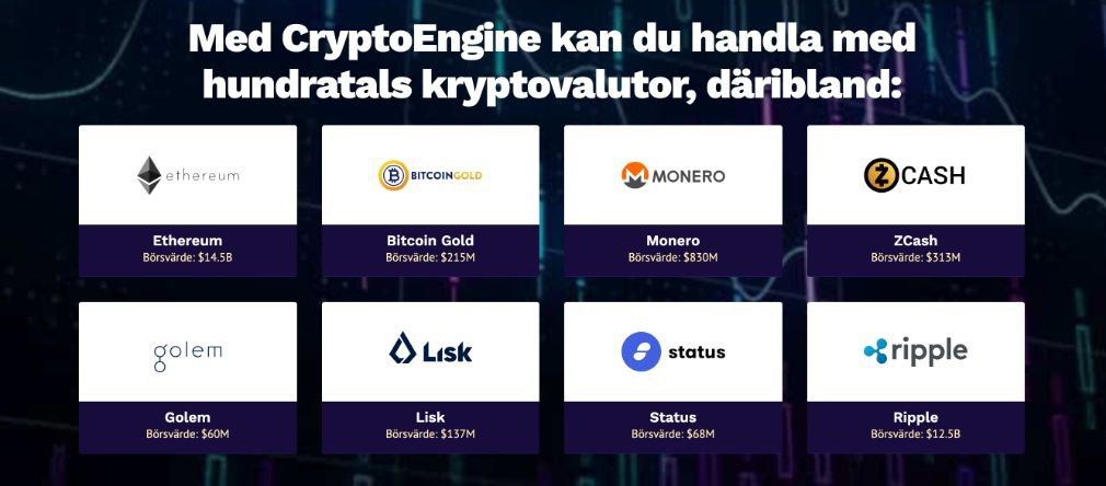 Crypto Engine valutor