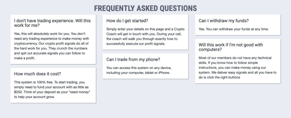 Crypto Nation Pro FAQ