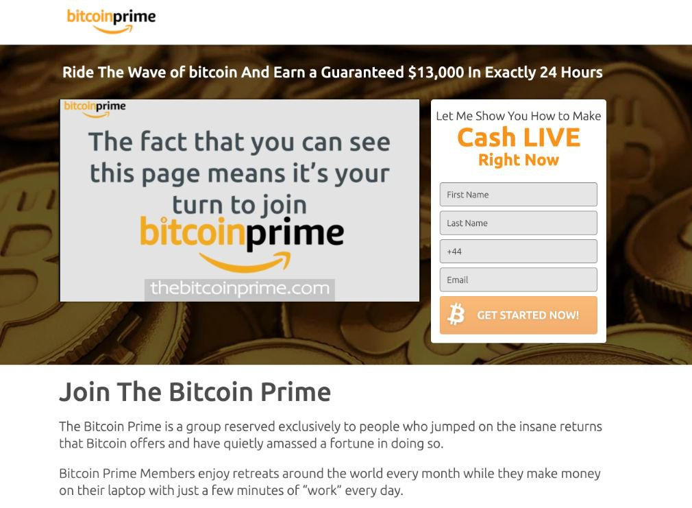 Bitcoin Prime Review
