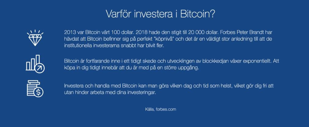 Bitcoin Bank fördel