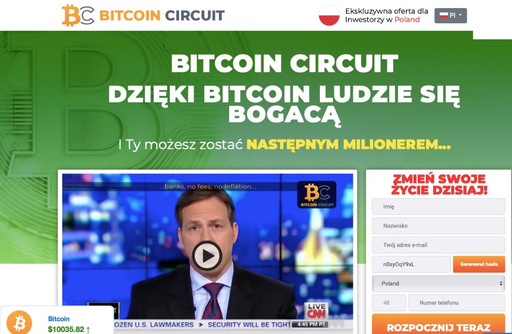 Bitcoin Circuit Opinie