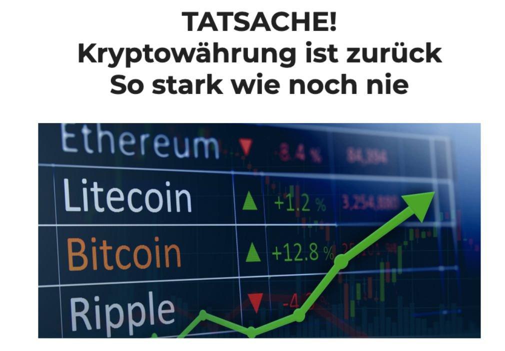 Crypto Comeback Pro news