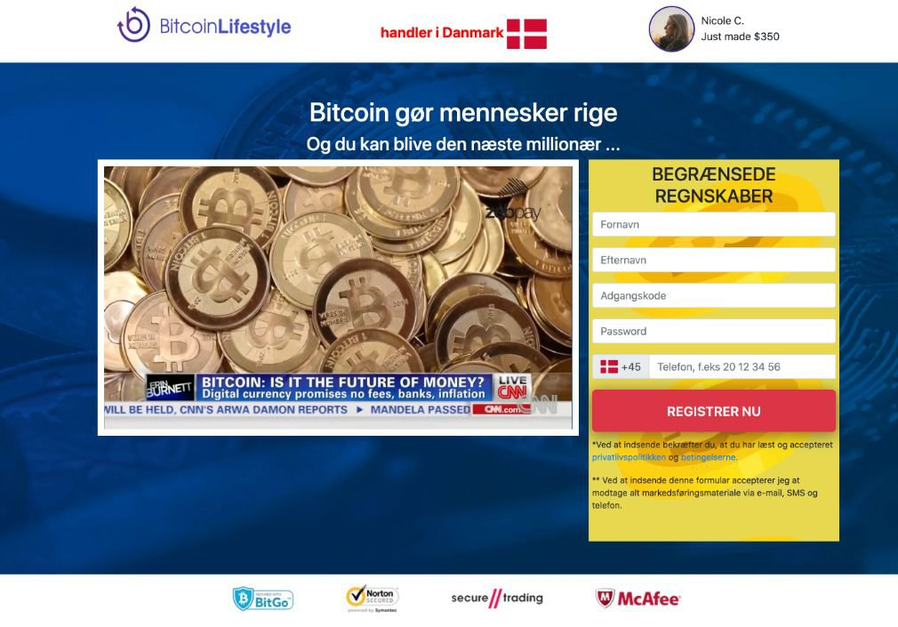 Bitcoin Lifestyle Anmeldelse