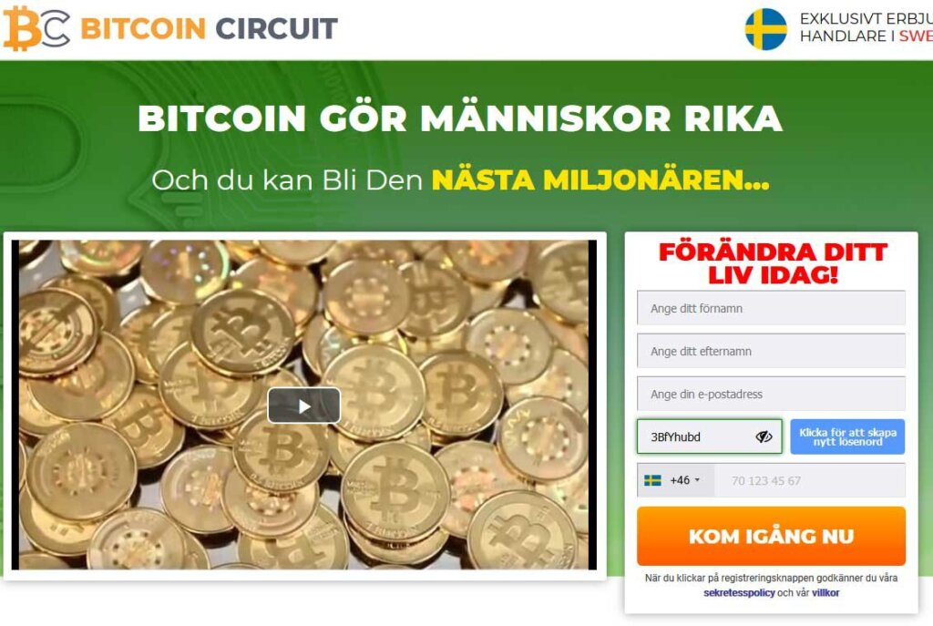 Bitcoin Circuit omdöme