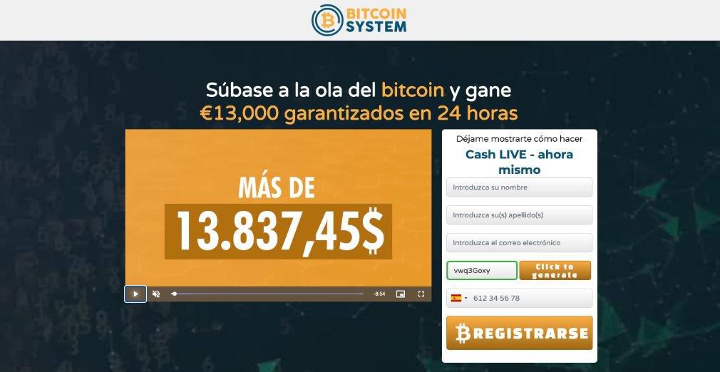 Bitcoin System Opiniones