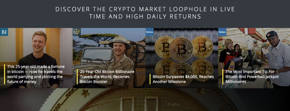 Bitcoin Loophole fordeler