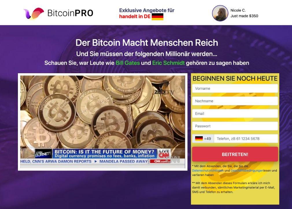 Bitcoin Pro Erfahrungen