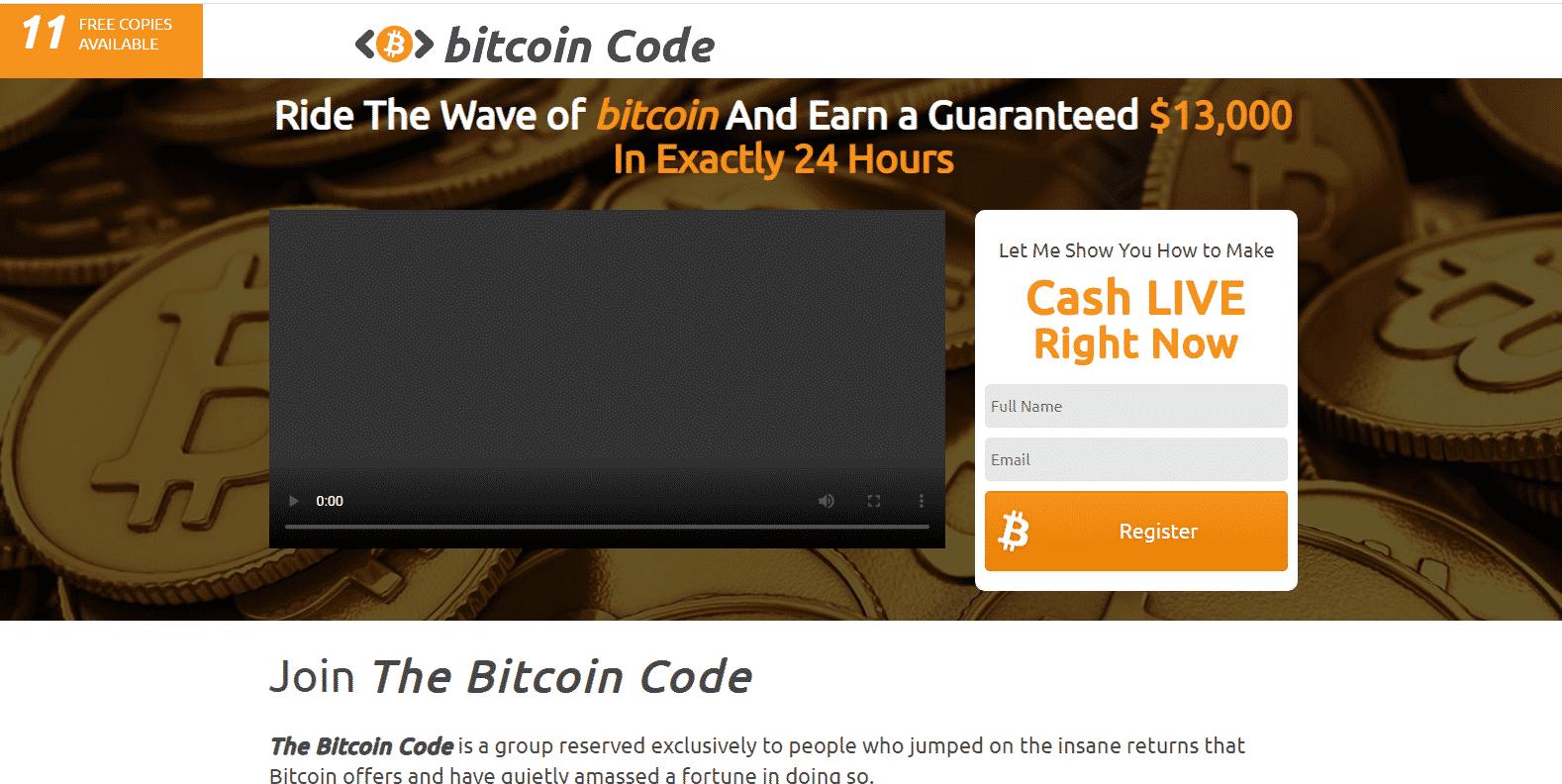 Piattaforma di trading Bitcoin Code