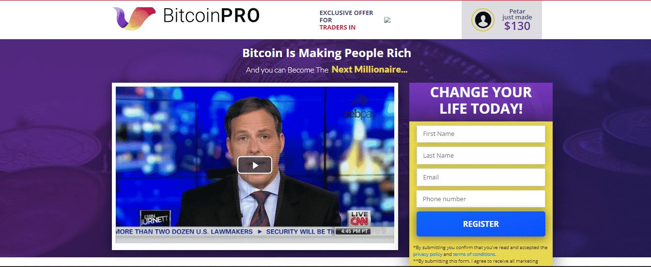 Bitcoin Pro Platforma handlowa