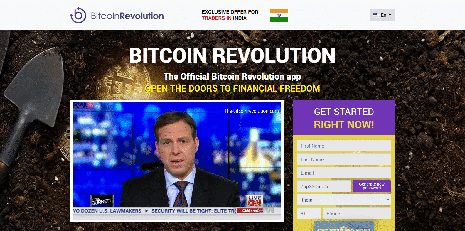 Bitcoin Revolution Handelsplattform